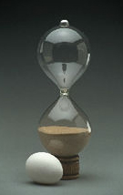 Unmounted Hourglass